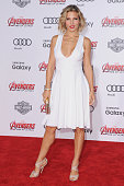 Actress Elsa Pataky arrives at the Los Angeles Premiere Marvel's 'Avengers Age Of Ultron' at Dolby Theatre on April 13 2015 in Hollywood California