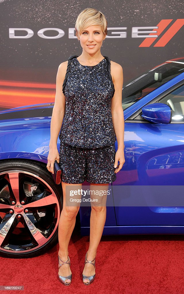 Actress <a gi-track='captionPersonalityLinkClicked' href=/galleries/search?phrase=Elsa+Pataky&family=editorial&specificpeople=242789 ng-click='$event.stopPropagation()'>Elsa Pataky</a> arrives at the Los Angeles premiere of 'Fast & The Furious 6' at Gibson Amphitheatre on May 21, 2013 in Universal City, California.
