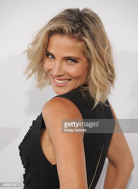 Actress Elsa Pataky arrives at the Los Angeles premiere of 'Furious 7' at TCL Chinese Theatre IMAX on April 1 2015 in Hollywood California