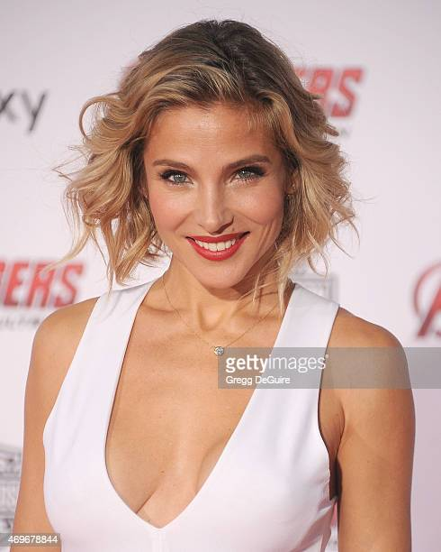 Actress Elsa Pataky arrives at the Los Angeles premiere of Marvel's 'Avengers Age Of Ultron' at Dolby Theatre on April 13 2015 in Hollywood California