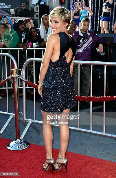 Actress Elsa Pataky arrives at the Premiere Of Universal Pictures' 'Fast Furious 6' on May 21 2013 in Universal City California