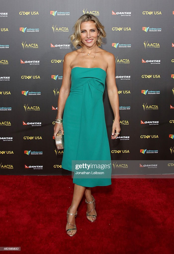 Actress <a gi-track='captionPersonalityLinkClicked' href=/galleries/search?phrase=Elsa+Pataky&family=editorial&specificpeople=242789 ng-click='$event.stopPropagation()'>Elsa Pataky</a> attends the 2015 G'Day USA GALA featuring the AACTA International Awards presented by QANTAS at Hollywood Palladium on January 31, 2015 in Los Angeles, California.