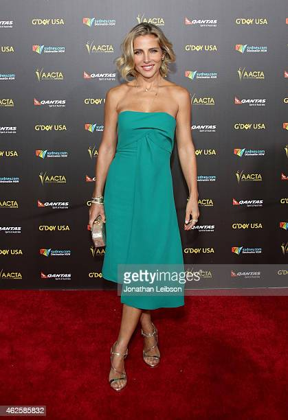 Actress Elsa Pataky attends the 2015 G'Day USA GALA featuring the AACTA International Awards presented by QANTAS at Hollywood Palladium on January 31...