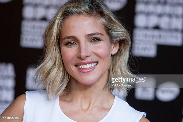 Actress Elsa Pataky attends the Charity Day Tennis Tournament during the Mutua Madrilena Open at La Caja Magica on May 1 2015 in Madrid Spain