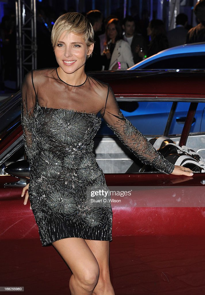Actress <a gi-track='captionPersonalityLinkClicked' href=/galleries/search?phrase=Elsa+Pataky&family=editorial&specificpeople=242789 ng-click='$event.stopPropagation()'>Elsa Pataky</a> attends the 'Fast & Furious 6' World Premiere after party at Somerset House on May 7, 2013 in London, England.