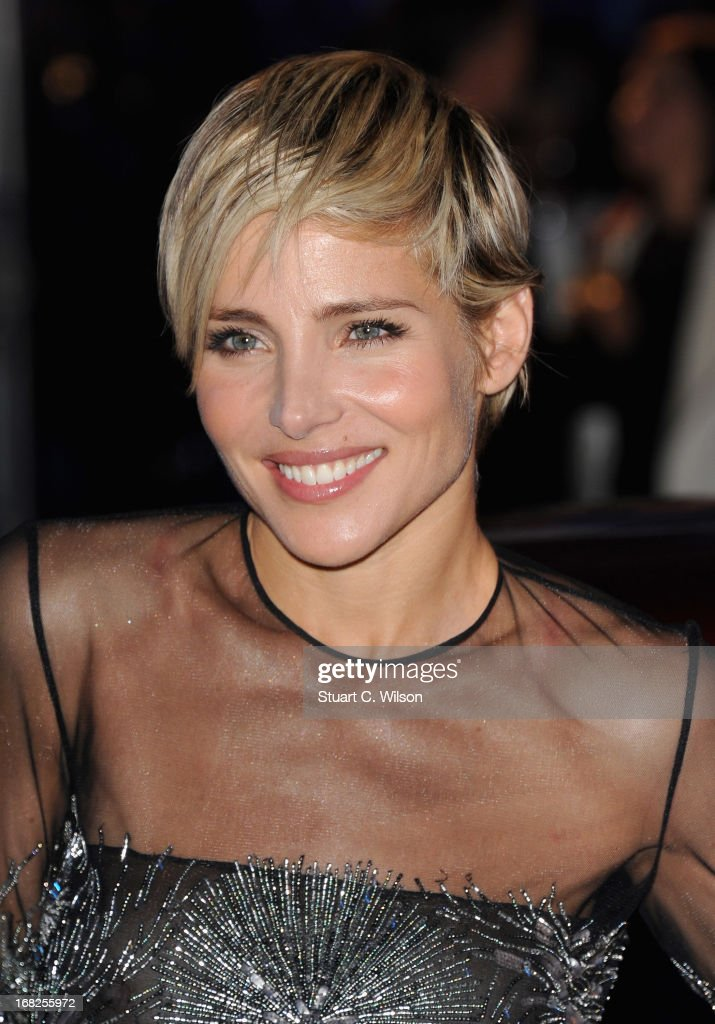 Actress Elsa Pataky attends the 'Fast & Furious 6' World Premiere after party at Somerset House on May 7, 2013 in London, England.