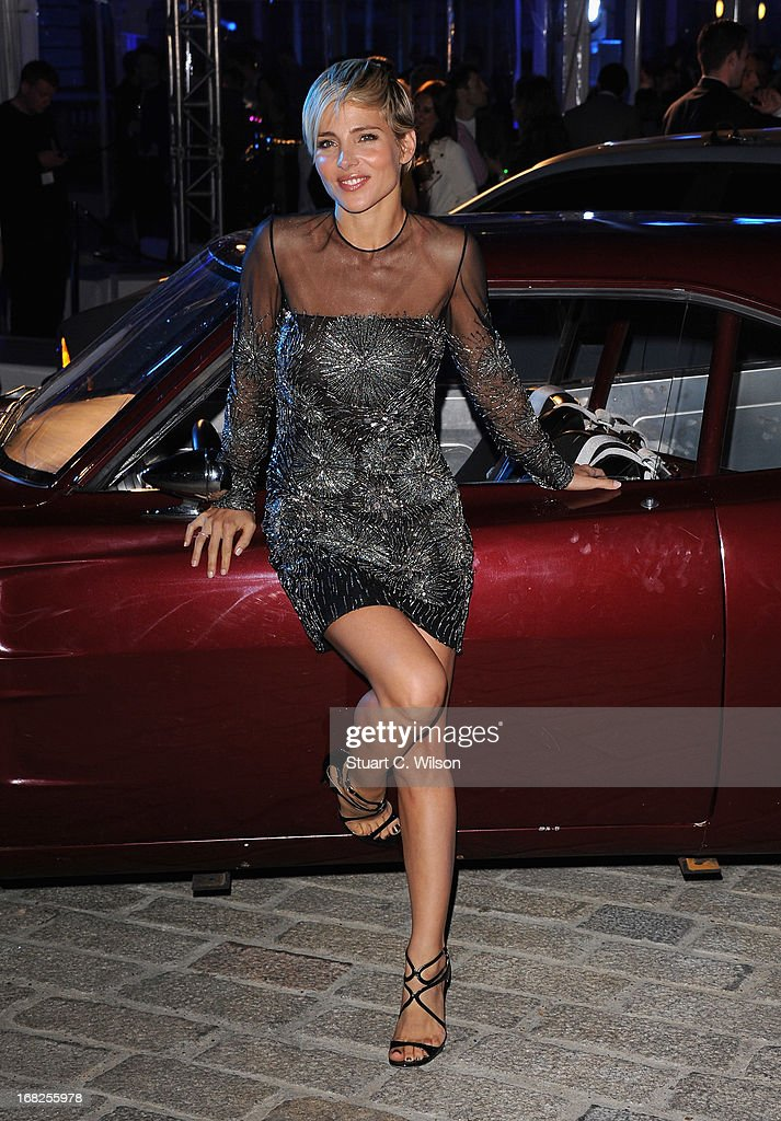Actress Elsa Pataky attends the 'Fast Furious 6' World Premiere after party at Somerset House on May 7 2013 in London England