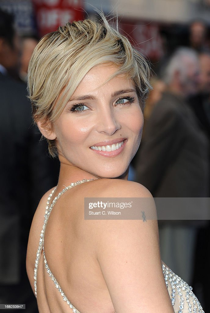 Actress Elsa Pataky attends the 'Fast & Furious 6' World Premiere at The Empire, Leicester Square on May 7, 2013 in London, England.