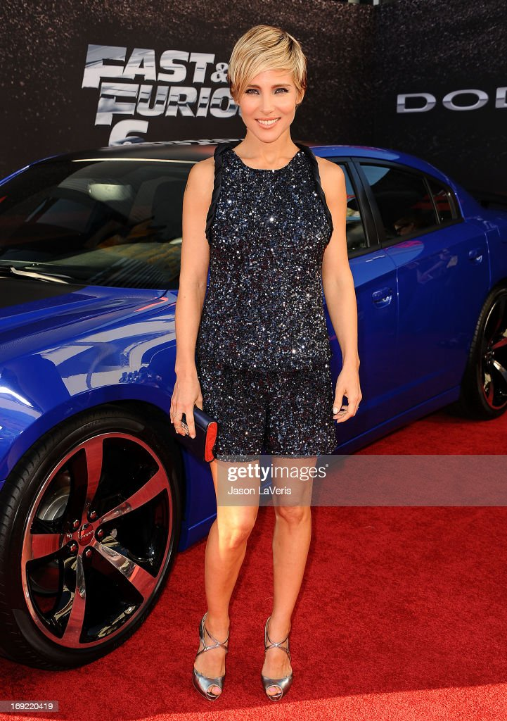 Actress Elsa Pataky attends the premiere of 'Fast & Furious 6' at Universal CityWalk on May 21, 2013 in Universal City, California.