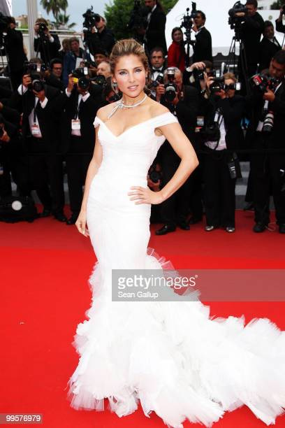 Actress Elsa Pataky attends the 'You Will Meet A Tall Dark Stranger' Premiere at the Palais des Festivals during the 63rd Annual Cannes Film Festival...