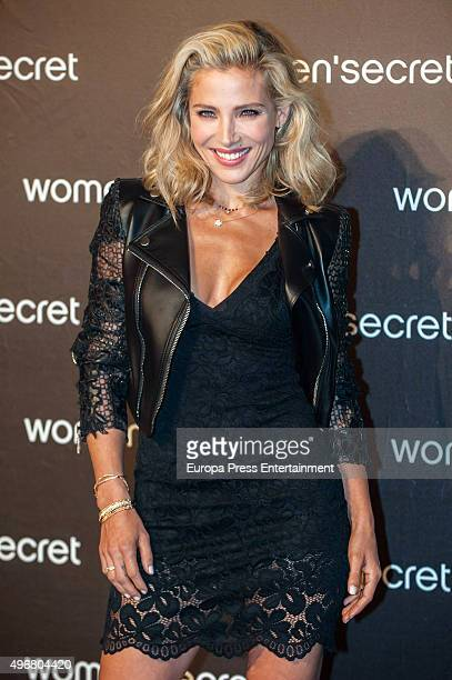 Actress Elsa Pataky attends Women's Secret videoclip premiere at Sala La Riviera on November 11 2015 in Madrid Spain