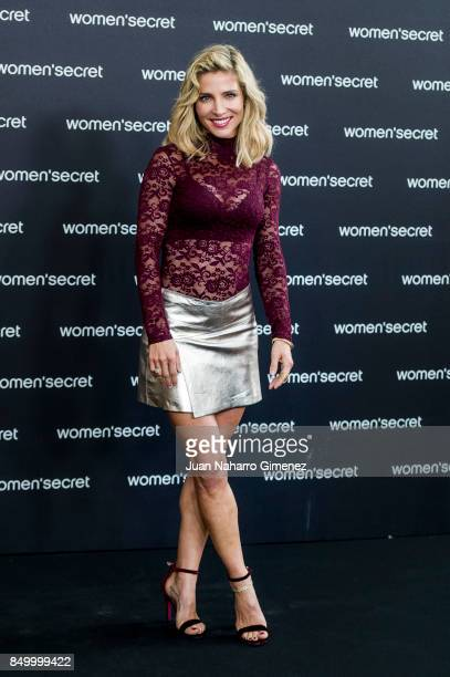Actress Elsa Pataky attends Women'Secret new campaign presentation at Camera Studio on September 20 2017 in Madrid Spain