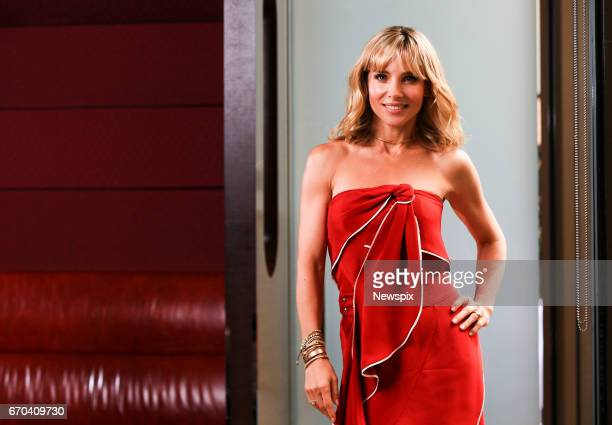 SYDNEY NSW Actress Elsa Pataky poses during a photo shoot in Sydney New South Wales