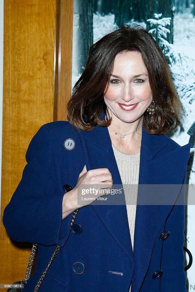 Actress Elsa Zylberstein attends 'Les Innocentes' Paris Premiere at Cinema Arlequin on February 9, 2016 in Paris, France.