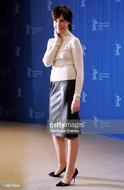 Actress Elsa Zylberstein attends the 'I've Loved You So Long' Photocall as part of the 58th Berlinale Film Festival at the Grand Hyatt Hotel on...