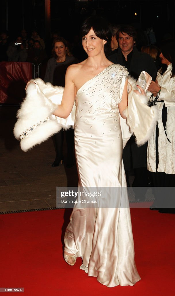 Actress Elsa Zylberstein attends the 'I've Loved You So Long' Premiere as part of the 58th Berlinale Film Festival at the Berlinale Palast on...