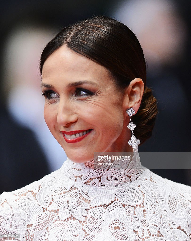 Actress Elsa Zylberstein attends the 'Only God Forgives' Premiere during the 66th Annual Cannes Film Festival at Palais des Festivals on May 22, 2013 in Cannes, France.