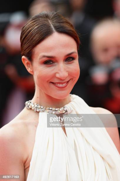 Actress Elsa Zylberstein attends 'The Search' premiere during the 67th Annual Cannes Film Festival on May 21 2014 in Cannes France