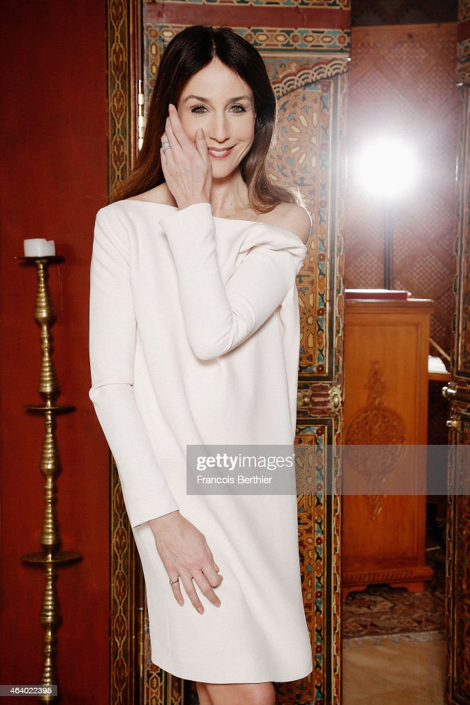 Actress Elsa Zylberstein is photographed for Self Assignment on December 1, 2013 in Marrakech, Morocco.