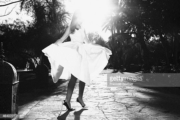 Actress Elsa Zylberstein is photographed for Self Assignment on December 1 2013 in Marrakech Morocco