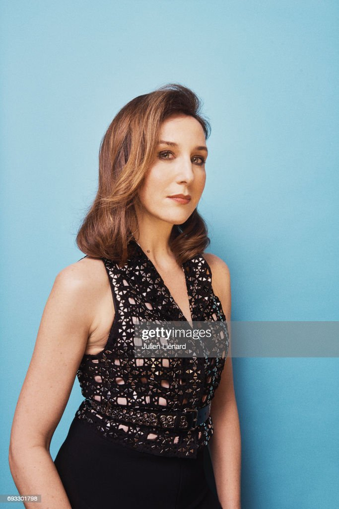 Actress Elsa Zylberstein is photographed for Self Assignment on February 2, 2017 in Paris, France.