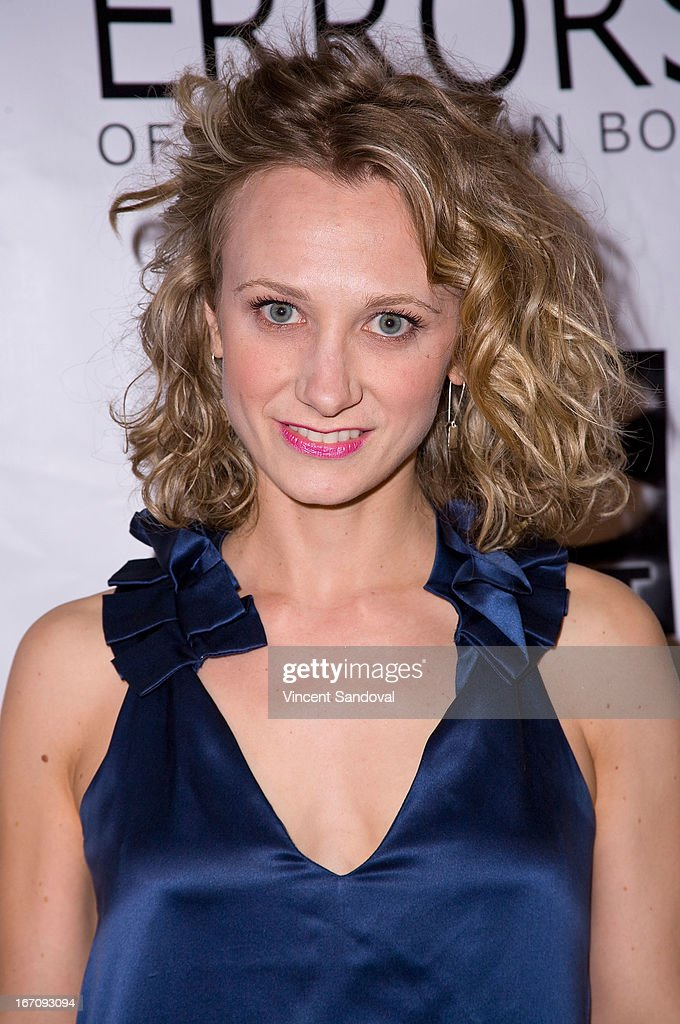 Actress Emanuela Galliussi attends the Los Angeles special screening of 'Errors Of The Human Body' at Arena Cinema Hollywood on April 19, 2013 in Hollywood, California.