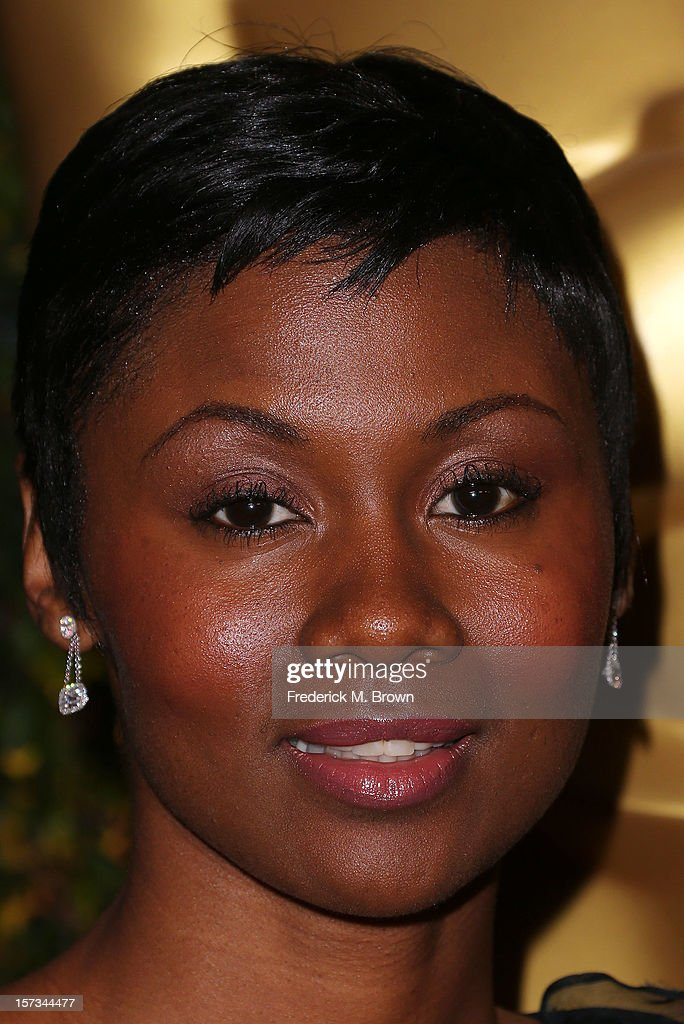 Actress Emayatzi Corinealdi attends the Academy Of Motion Picture Arts And Sciences' 4th Annual Governors Awards at Hollywood and Highland on December 1, 2012 in Hollywood, California.