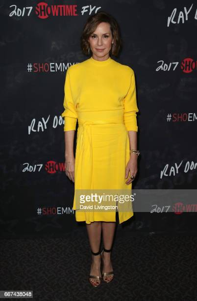 Actress Embeth Davidtz attends Showtime's 'Ray Donovan' Season 4 FYC event at the DGA Theater on April 11 2017 in Los Angeles California