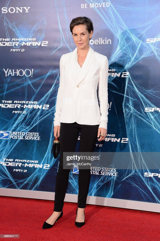 Actress <a gi-track='captionPersonalityLinkClicked' href=/galleries/search?phrase=Embeth+Davidtz&family=editorial&specificpeople=810596 ng-click='$event.stopPropagation()'>Embeth Davidtz</a> attends 'The Amazing Spider-Man 2' premiere at the Ziegfeld Theater on April 24, 2014 in New York City.