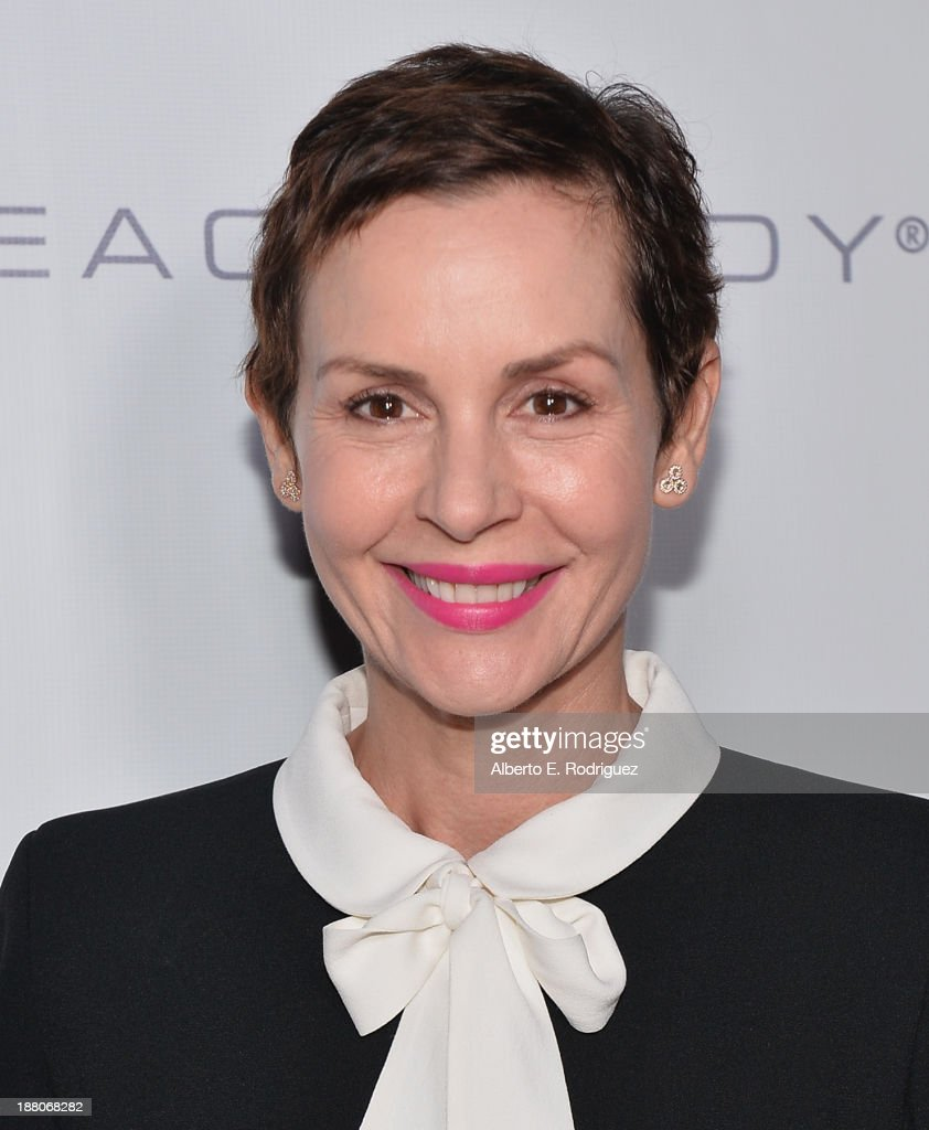 Actress <a gi-track='captionPersonalityLinkClicked' href=/galleries/search?phrase=Embeth+Davidtz&family=editorial&specificpeople=810596 ng-click='$event.stopPropagation()'>Embeth Davidtz</a> atttends the 6th annual GO GO Gala on November 14, 2013 in Pacific Palisades, California.