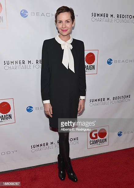 Actress Embeth Davidtz atttends the 6th annual GO GO Gala on November 14 2013 in Pacific Palisades California