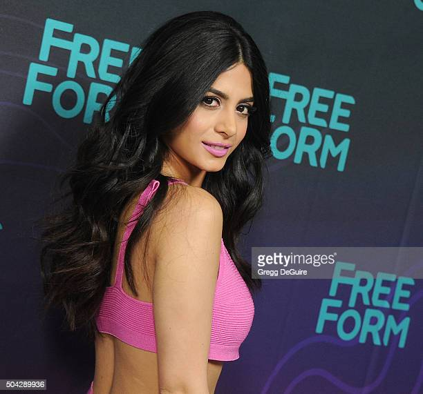 Actress Emeraude Toubia arrives at the 2016 Winter TCA Tour Disney/ABC at Langham Hotel on January 9 2016 in Pasadena California