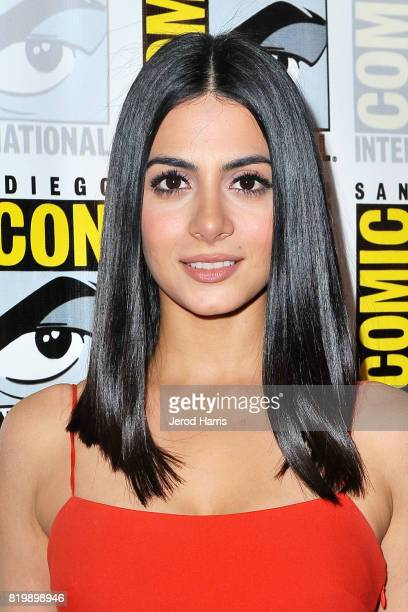 Actress Emeraude Toubia attends ComicCon International 2017 Day 1 on July 20 2017 in San Diego California