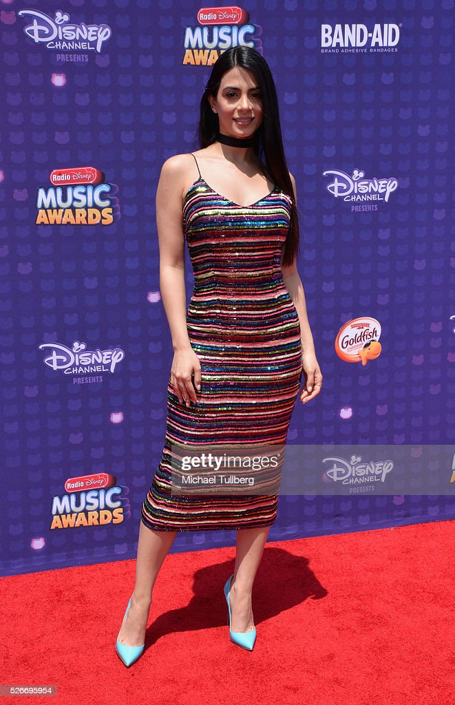 Actress Emeraude Toubia attends the 2016 Radio Disney Music Awards at Microsoft Theater on April 30, 2016 in Los Angeles, California.