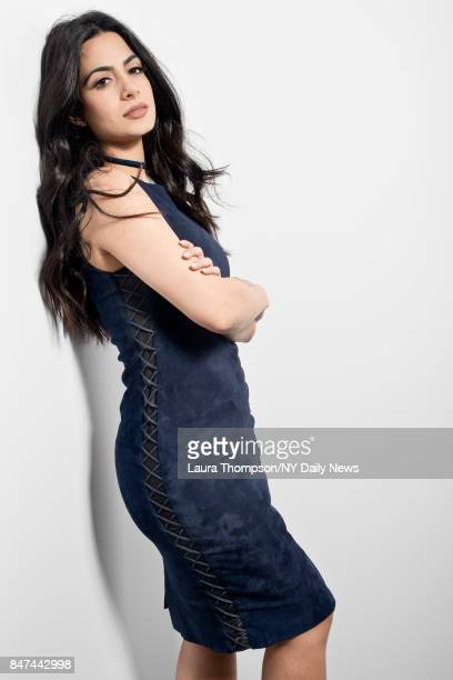 Actress Emeraude Toubia is photographed for NY Daily News on October 8 2016 at Comic Con in New York City CREDIT MUST READ Laura Thompson/New York...