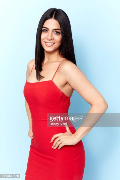 Actress Emeraude Toubia of Freeform's 'Shadowhunters' poses for a portrait during ComicCon 2017 at Hard Rock Hotel San Diego on July 20 2017 in San...