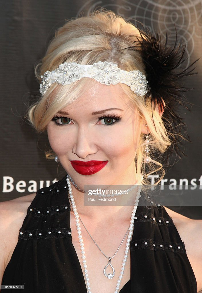 Actress Emii attends Sue Wong's Great Gatsby Fall 2013 Collection on April 19, 2013 in Los Angeles, California.