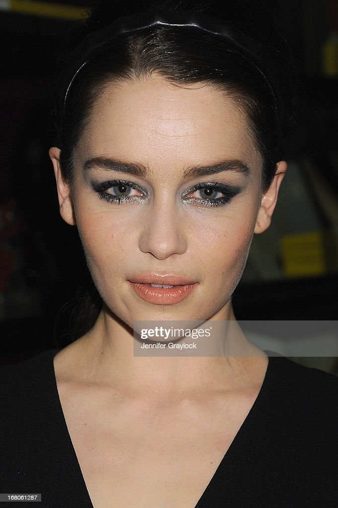 Actress Emilia Clarke attends Moda Operandi and St. Regis Hotels & Resorts event 'A Midnight Supper' to celebrate the launch of the exclusive Punk Collection on preview at The St Regis New York on May 4, 2013 in New York City.