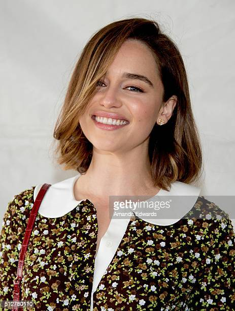 Actress Emilia Clarke attends the 2016 Film Independent Spirit Awards on February 27 2016 in Santa Monica California