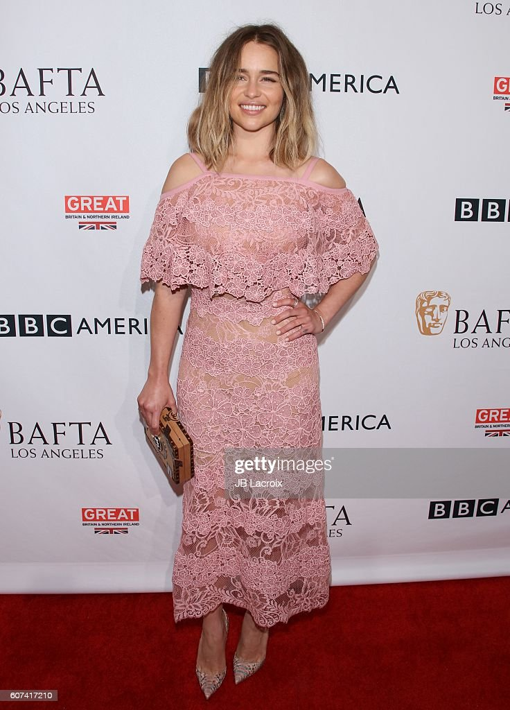 Actress Emilia Clarke attends the BBC America BAFTA Los Angeles TV Tea Party at The London Hotel on September 17, 2016 in West Hollywood, California.