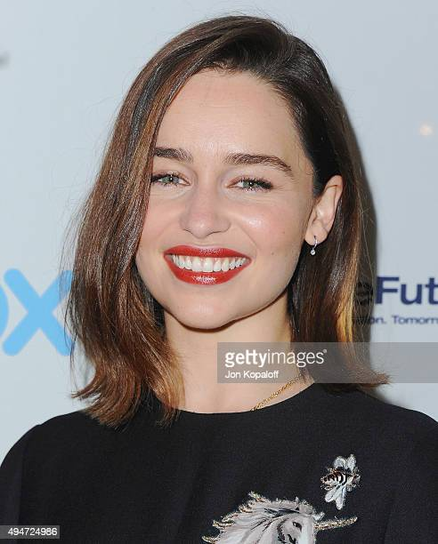 Actress Emilia Clarke attends TheWrap's Power Women Breakfast at Ocean Prime on October 28 2015 in Beverly Hills California