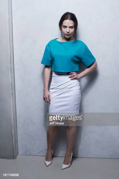 Actress Emilia Clarke is photographed at the Toronto Film Festival on September 9 2013 in Toronto Ontario