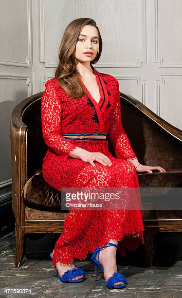 Actress Emilia Clarke is photographed for Los Angeles Times on March 22 2015 in West Hollywood California PUBLISHED IMAGE CREDIT MUST READ Christina...