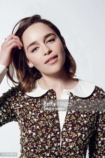 Actress Emilia Clarke poses for a portrait at the 2016 Film Independent Spirit Awards on February 27 2016 in Santa Monica California