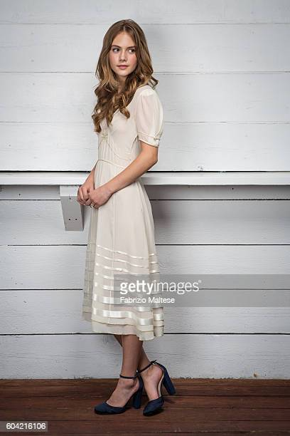 Actress Emilia Jones is photographed for Self Assignment on September 3 2016 in Venice Italy