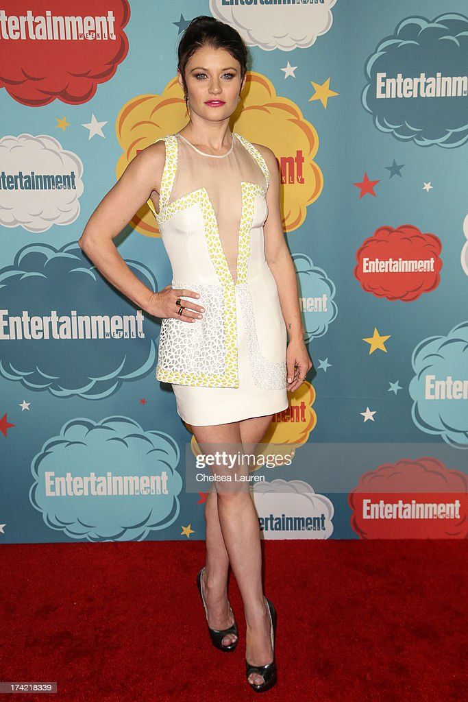 Actress Emilie de Ravin arrives at Entertainment Weekly's annual Comic-Con celebration at Float at Hard Rock Hotel San Diego on July 20, 2013 in San Diego, California.