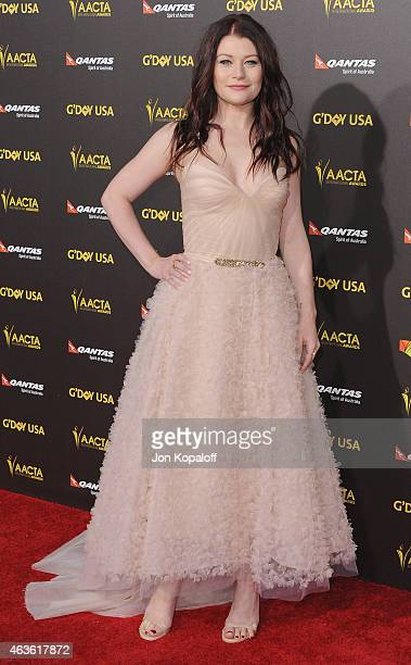 Actress Emilie de Ravin arrives at the 2015 G'Day USA Gala Featuring The AACTA International Awards Presented By Quantas at Hollywood Palladium on...