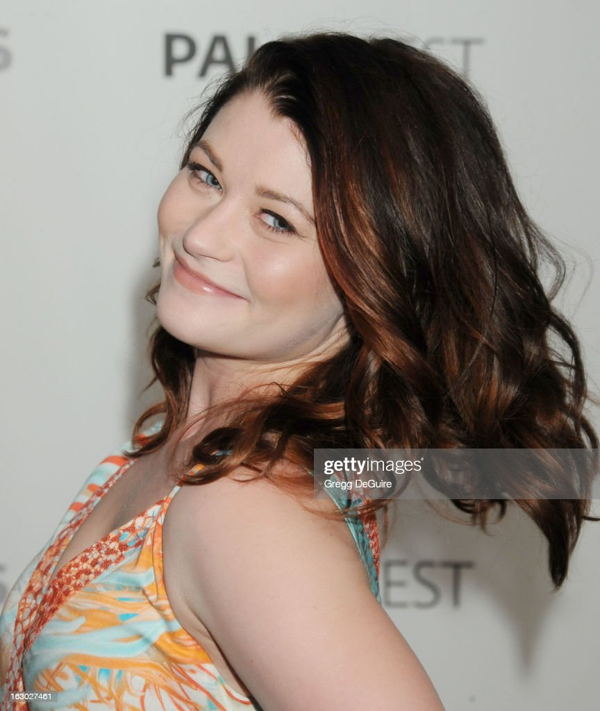 Actress Emilie de Ravin arrives at the 30th Annual PaleyFest: The William S. Paley Television Festival featuring 'Once Upon A Time' at Saban Theatre on March 3, 2013 in Beverly Hills, California.
