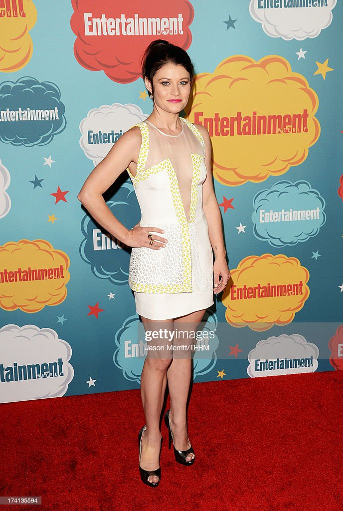 Actress Emilie de Ravin attends Entertainment Weekly's Annual Comic-Con Celebration at Float at Hard Rock Hotel San Diego on July 20, 2013 in San Diego, California.
