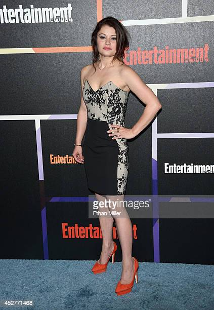 Actress Emilie de Ravin attends Entertainment Weekly's annual ComicCon celebration at Float at Hard Rock Hotel San Diego on July 26 2014 in San Diego...